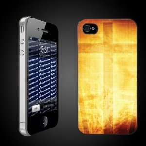 Christian Themed Golden Cross   iPhone Hard Case   CLEAR