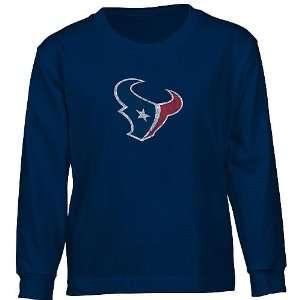 Reebok Houston Texans Youth (8/20) Faded Logo Tee: Sports