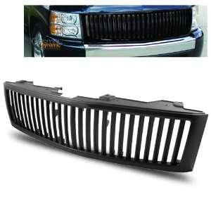 07 10 Chevy Silverado Black Vertical Front Grille