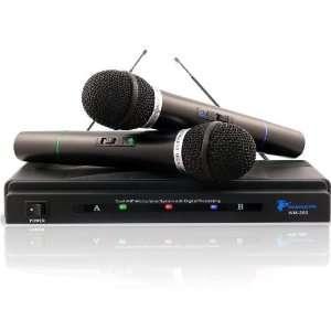 Brand New Technical Pro WM200 Dual VHF Wireless Microphone