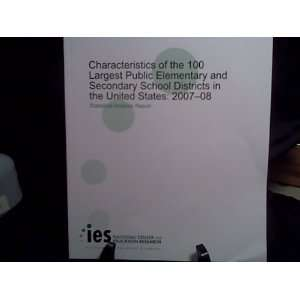 2010): IES Chris Plotts, IES Jennifer Sable, NCES Chen Su Chen: Books