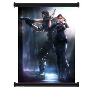 Resident Evil Revelations Game Fabric Wall Scroll Poster