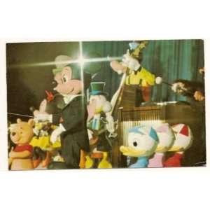 Walt Disney World Magic Kingdom The Mickey Mouse Revue 3x5