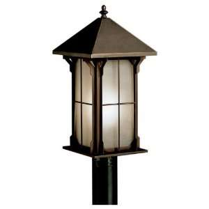 Kichler Astoria Outdoor Post Light   16H in. Olde Bronze, ENERGY STAR