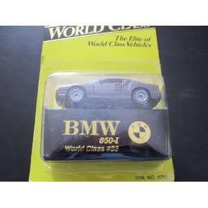 BMW 850 i Matchbox Super World Class Series 1993 #36: Everything Else