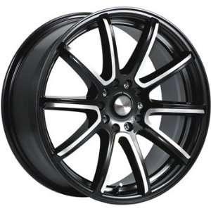 MAAS Silverstone 16x7.5 Black Wheel / Rim 5x112 & 5x4.5 with a 38mm