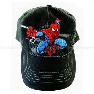 Marvel SPIDERMAN Web Slinger Boys Kids Youth Baseball Cap Hat  Black