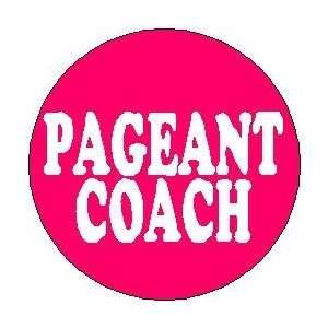 COACH 1.25 Pinback Button Badge / Pin ~ Beauty Queen