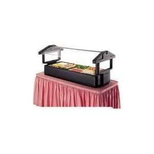 Black Cambro 5FBRTT Table Top 5 Food Bar with Sneeze