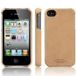 SGP iPhone 4 Leather Case Genuine Leather Grip Series