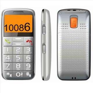 Senior Citizens Large SOS Button FM Elderly Cell Phone