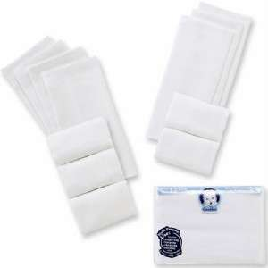 Prefold Birdseye 3 ply Cloth Diapers, Burp Cloths, Baby Shower