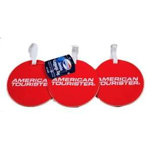 Set of 3 American Tourister Jumbo Luggage Tags