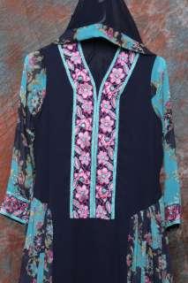 New Designer Salwar Kameez Shalwar Blue Anarkali