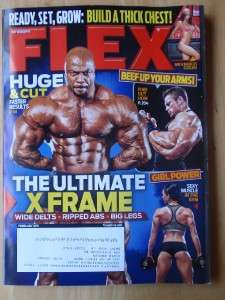 FLEX bodybuilding muscle mag/Toney Freeman/Anca 2 11