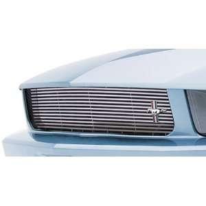 3dCarbon 2005 2009 Mustang V6 Chrome Billet Style Grille
