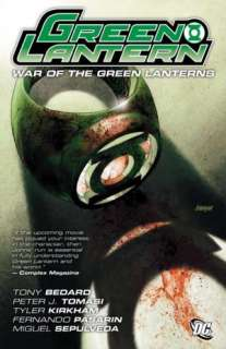 war of the green lanterns tony bedard hardcover $ 14