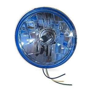 Drag Specialties 5 3/4 Halogen Light Blue Harley Davidson 2001 0103 *