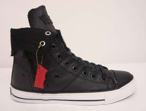 ZIP EX HI CT TWLL MENS SHOES BLACK 514751 06A SELECT SIZE
