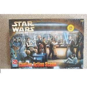 Star Wars AMT Cantina Action Scene Model Kit NEW MISB