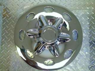 15 Chrome Trailer Wheel Hub Cap Rim Covers SHARP