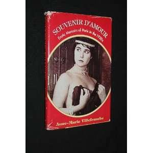 Souvenir D  Amour Anne Marie Villefranche Books