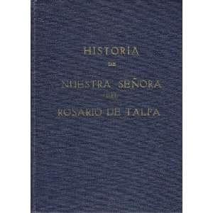 Senora Del Rosario de Talpa PBRO. Manuel Carrillo Duenas Books