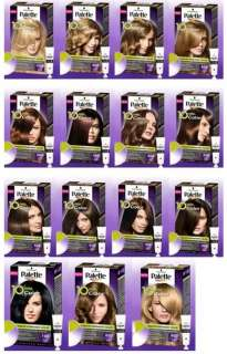 Schwarzkopf Palette HAIR COLOR IN 10 MINUTES NEW