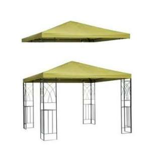 NEW 10x10 REPLACEMENT BEIGE CANOPY TOP GAZEBO COVER