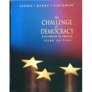 democracy: Government in America (9780395472873): Kenneth Janda: Books