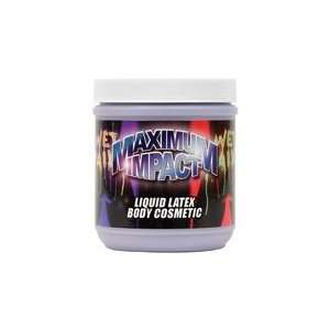 Liquid Latex Body Paint   Red 16 oz