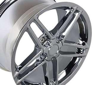 18 Rim Fits Corvette C6 Z06 Wheel Chrome 18 x 9.5