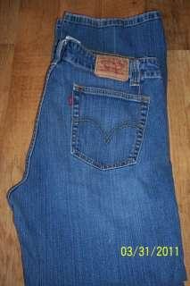 Levi Levis Womens Jeans Boot Cut 525 sz 12 S Free Ship