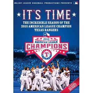 Texas Rangers Its Time DVD