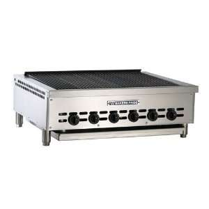 Bakers Pride XX 6GS 37 Countertop Glo Stone Charbroiler