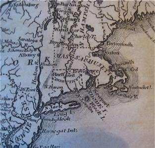 1813 careys american pocket atlas   20 maps   united states   america