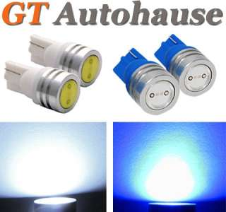 White LED License Lights Honda Civic SI Sedan Coupe W01