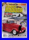 RODDER APRIL 1989,1942 1948 FORD CHASSIS,1937 DESOTO,HOT ROD MAGAZINE