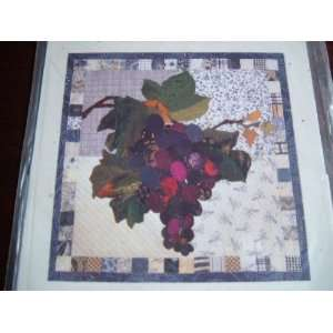 Grape Basket Patchwork Quilt Pattern | Purple Kitty
