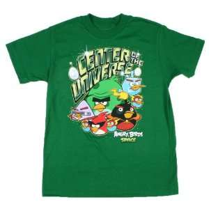 Angry Birds Space Center of the Universe Boys Shirt Size