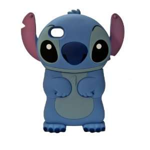 1X Disneys Stitch Character iPhone 4 or 4S hard 3D case
