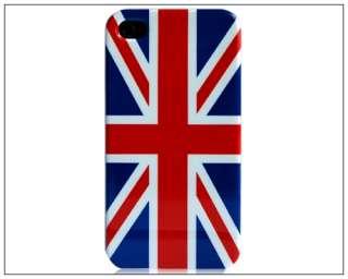 UK United Kingdom Flag Hard Case Cover For iPhone 4 4G
