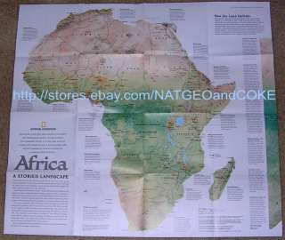National Geographic MAP September 2005 AFRICA