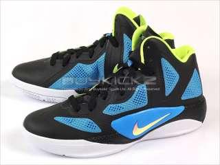Nike Hyperfuse 2011 (GS) Black/Metallic Blue 2011 High 454580 002
