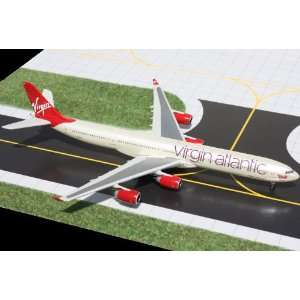Gemini Jets Virgin Atlantic A340 600 Model Airplane Toys & Games