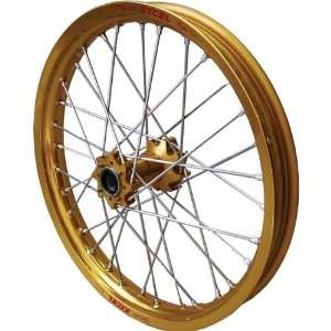 Series Rear Wheel Assembly   19X1.85   Gold Hub/Black Rim Gold