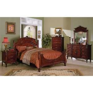 pine wood bedroom set w wrought iron bed artisan wooden