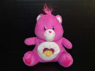 Plush Bright Shine Heart Care Bear Pink Sun Toy