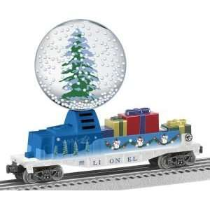 6 29895 Christmas Operating Snow Globe Car