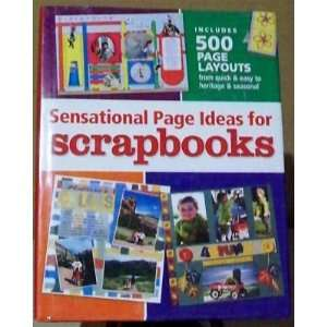 Page Ideas for Scrapbooks (9781892127495): Bev Krischner Braun: Books